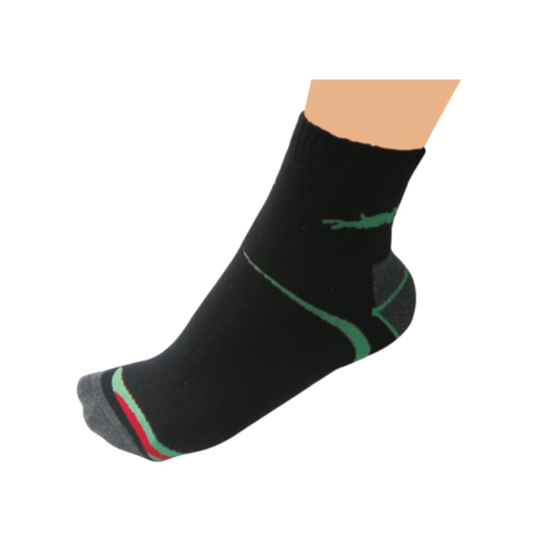 SOCKS (Black/Grey/Green/Red)