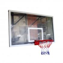 BASKETBALL BOARD TRANSPARENT ACRYLIC 1.80MTR X 1.05MTR X 15MM