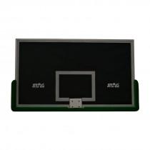 BASKETBALL BOARD SAFETY GLASS ALUMINUM FRAME W/PADDING 1.8MTR X 1.05MTR X 12MM