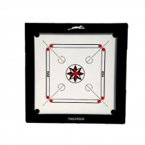 "STAG CARROM BOARD INT. 4"" BORDER 12MM Prelaminated Particle Board WITH WHEELS"