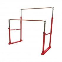 STAG UNEVEN BAR / ASSYMETRIC BAR LATEST WOOD COVERED FIBRE GLASS