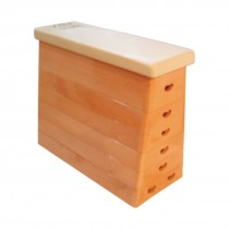 STAG VAULTING BOX ( WOODEN )  HIGH QUALITY BEACH WOOD