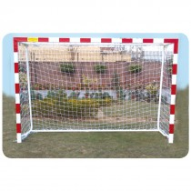 HANDBALL GOAL POST ALUMINUM WITH 40MM BACK SUPPORT
