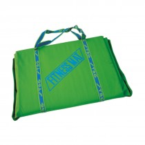 FOLDABLE FITNESS MAT 180CM X 60CM X 10MM RED COLOR