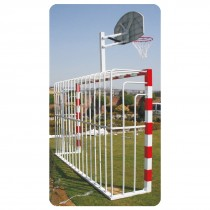 MULTI GOAL - SOCCER GOAL W/BASKETBALL POST