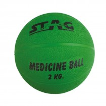 STAG MEDICINE BOUNCING GYM BALL RUBBER INFLATABLE 1KG