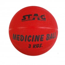 STAG MEDICINE BOUNCING GYM BALL RUBBER INFLATABLE 2KG