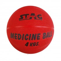 STAG MEDICINE BOUNCING GYM BALL RUBBER INFLATABLE 3KG