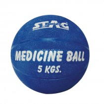 STAG MEDICINE BOUNCING GYM BALL RUBBER INFLATABLE 4KG