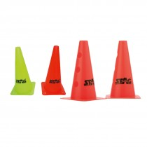 MARKER CONES STRONG PVC 9""