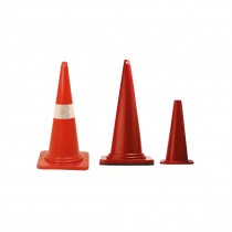 """WEIGHTED RUBBERISED BASE CONES 30"""""""