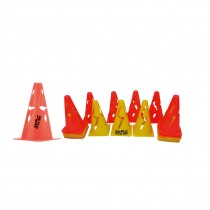 FLEXIBLE CONES PVC 9""