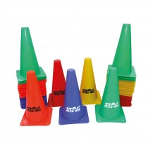 TOUGH CONES WITH HEAVY PVC BASE 4""