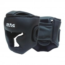 STAG BOXING HEAD GUARD PU CHICK CHIN COVER PADDED TOP COVER PROTECTED