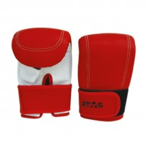 STAG PUNCHING GLOVES CUT THUMB 3 VELCRO SHEET PADDED STAG