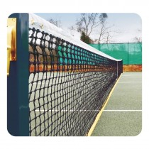 LAWN TENNIS NET W/NON-TEARING TAPE OF 840 DENIER NYLON VINYL COATED