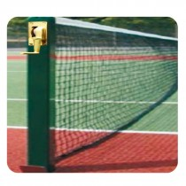 LAWN TENNIS POST DELUXE SQUARE SHAPED FIXED